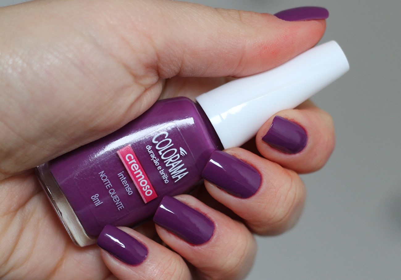 esmalte cor do ano pantone ultra violeta colorama